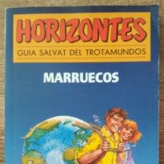 Libros: MARRUECOS. GUÍA SALVAT DEL TROTAMUNDOS. HORIZONTES. Lote 206157000