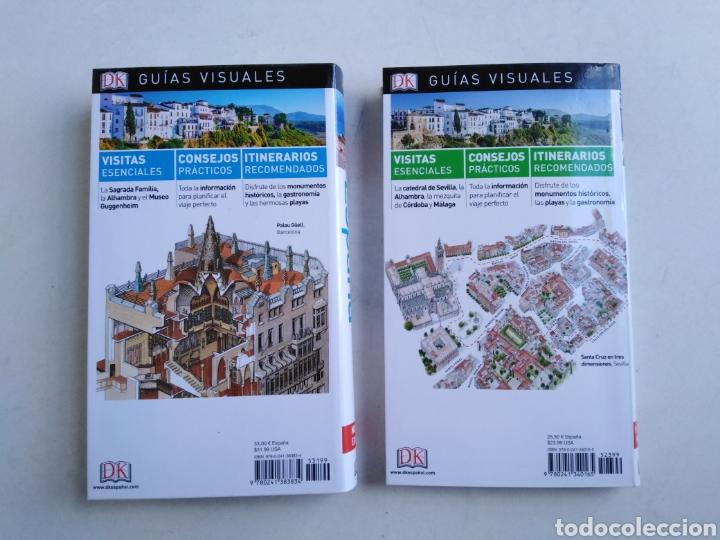 Libros: Lote de 2 libros Guías visuales España, Sevilla y Andalucía ) - Foto 2 - 207956993