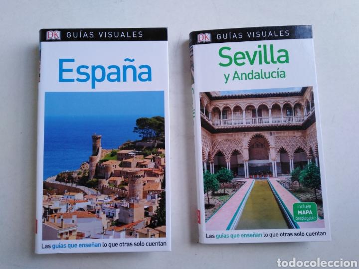 LOTE DE 2 LIBROS GUÍAS VISUALES ESPAÑA, SEVILLA Y ANDALUCÍA ) (Libros Nuevos - Ocio - Guía de Viajes)