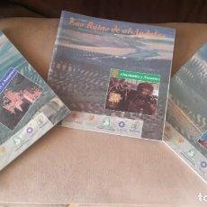 Libros: LOTE DE 3 RUTAS DE AL -ANDALUS ALMOHADES Y NAZARÍES. Lote 207995987