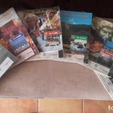 Livros: LOTE DE 3 RUTAS Y 3 RUTAS DE AL -ANDALUS IBN BATTUTA E IBN AL-JATIB. Lote 208001065