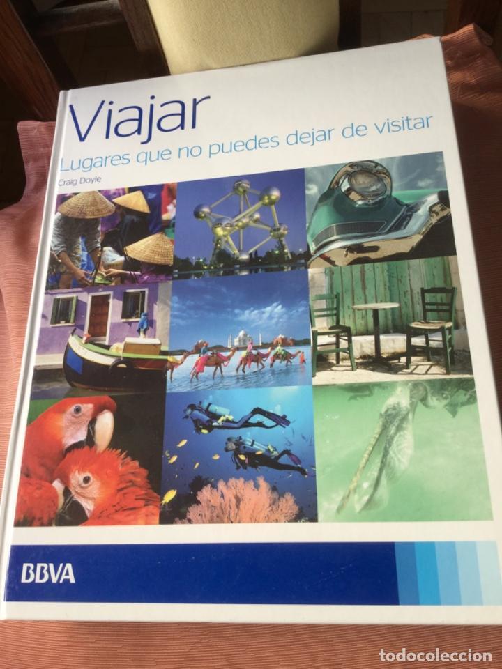 LIBRO VIAJAR, LUGARES QUE NO PUEDES DEJAR DE VISITAR MUY ILUSTRADO, 248 PGS. EN PASTA DURA. (Libros Nuevos - Ocio - Guía de Viajes)