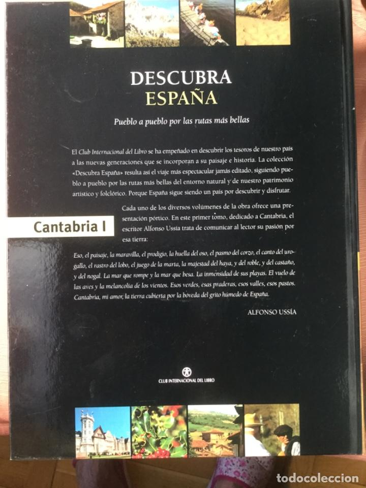 Libros: DESCUBRA ESPAÑA. PUEBLO A PUEBLO POR LAS RUTAS MAS BELLAS. CANTABRIA - Foto 2 - 209037416