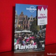 Libros: MINI GUIA LONELY PLANET FLANDES 2019 AMBERES BRUJAS BRUSELAS GANTE LOVAINA MALINAS. Lote 209950300