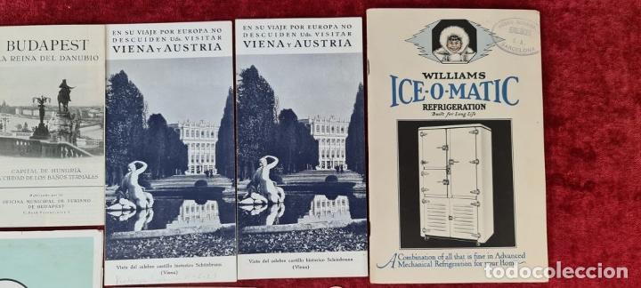 Libros: COLECCIÓN DE GUIAS TURUSTICAS DE NORUEGA, VIENA Y AUSTRIA. CIRCA 1920. - Foto 3 - 210739867