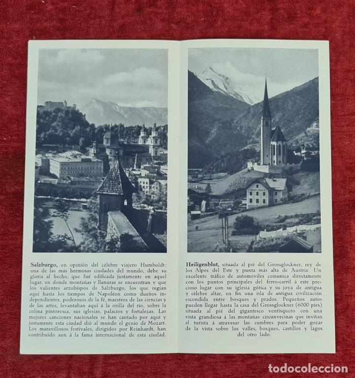 Libros: COLECCIÓN DE GUIAS TURUSTICAS DE NORUEGA, VIENA Y AUSTRIA. CIRCA 1920. - Foto 4 - 210739867
