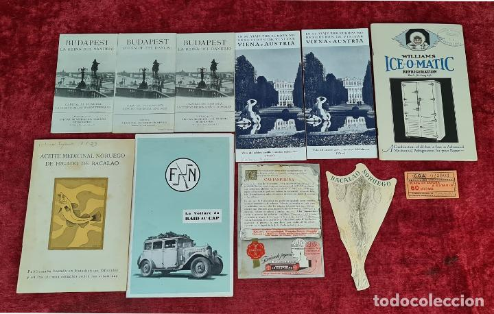 COLECCIÓN DE GUIAS TURUSTICAS DE NORUEGA, VIENA Y AUSTRIA. CIRCA 1920. (Libros Nuevos - Ocio - Guía de Viajes)