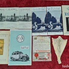 Libros: COLECCIÓN DE GUIAS TURUSTICAS DE NORUEGA, VIENA Y AUSTRIA. CIRCA 1920.. Lote 210739867