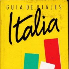 Libros: ITALIA. GUÍA DE VIAJES.. Lote 212839653