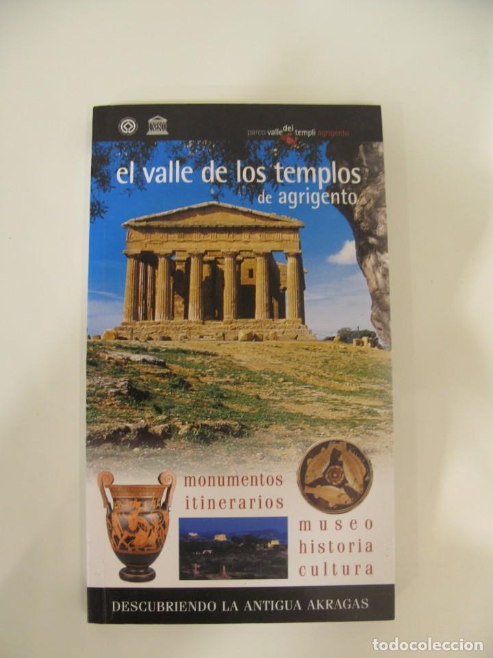 """GUÍA DE """"EL VALLE DE LOS TEMPLOS DE AGRIGENTO"""". (Libros Nuevos - Ocio - Guía de Viajes)"""