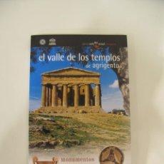 """Libros: GUÍA DE """"EL VALLE DE LOS TEMPLOS DE AGRIGENTO"""".. Lote 214741961"""