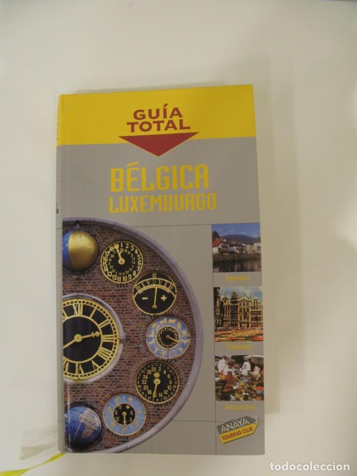 GUÍA TOTAL BÉLGICA Y LUXEMBURGO. ANAYA TOURING CLUB. (Libros Nuevos - Ocio - Guía de Viajes)