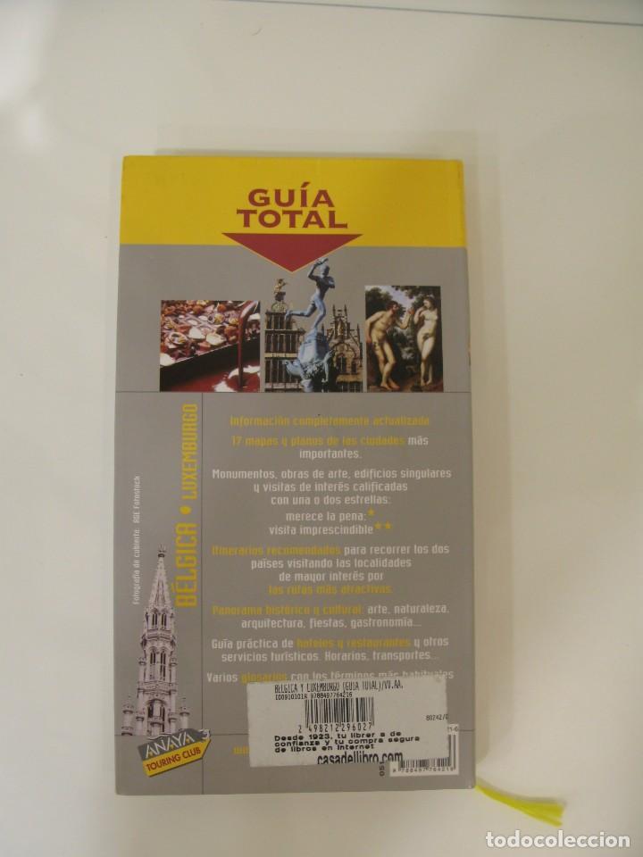 Libros: Guía Total Bélgica y Luxemburgo. Anaya Touring Club. - Foto 2 - 214742958