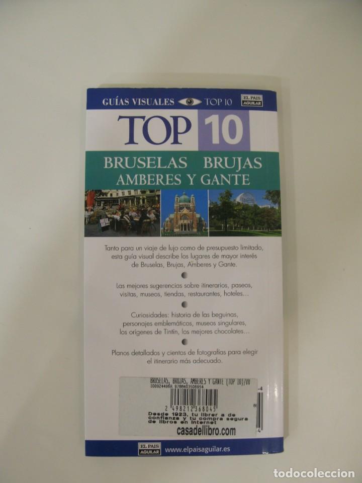 Libros: Guías visuales Top 10 BRUSELAS BRUJAS AMBERES Y GANTE - Foto 2 - 214744421