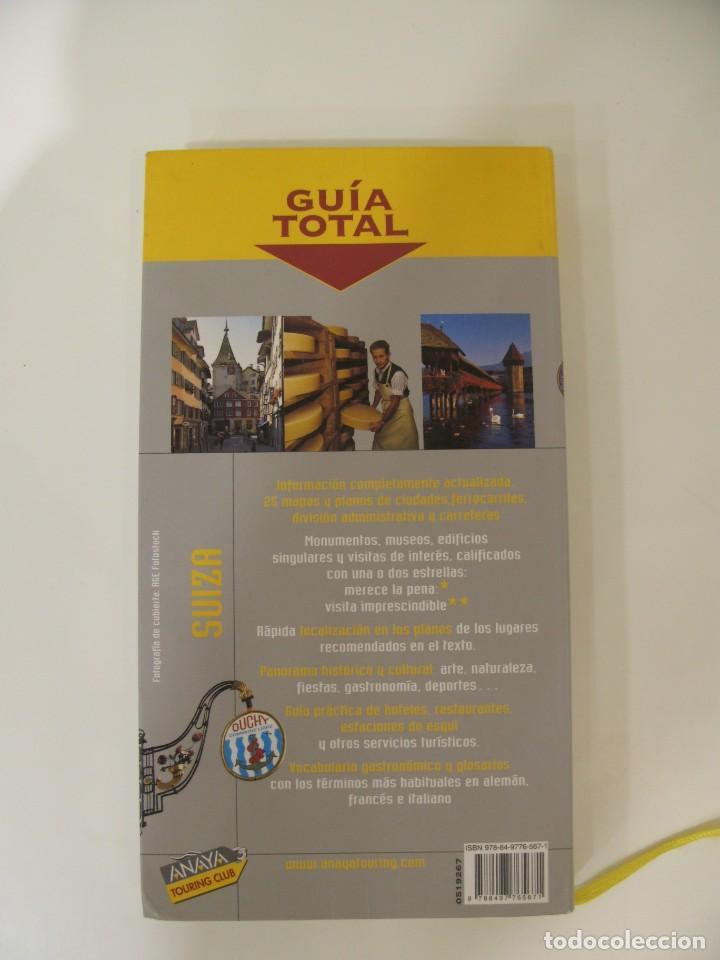 Libros: Suiza. Guía Total. Anaya Touring Club - Foto 2 - 214745463