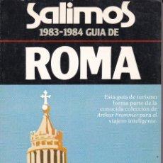 Libros: GUÍA DE ROMA. Lote 216866005