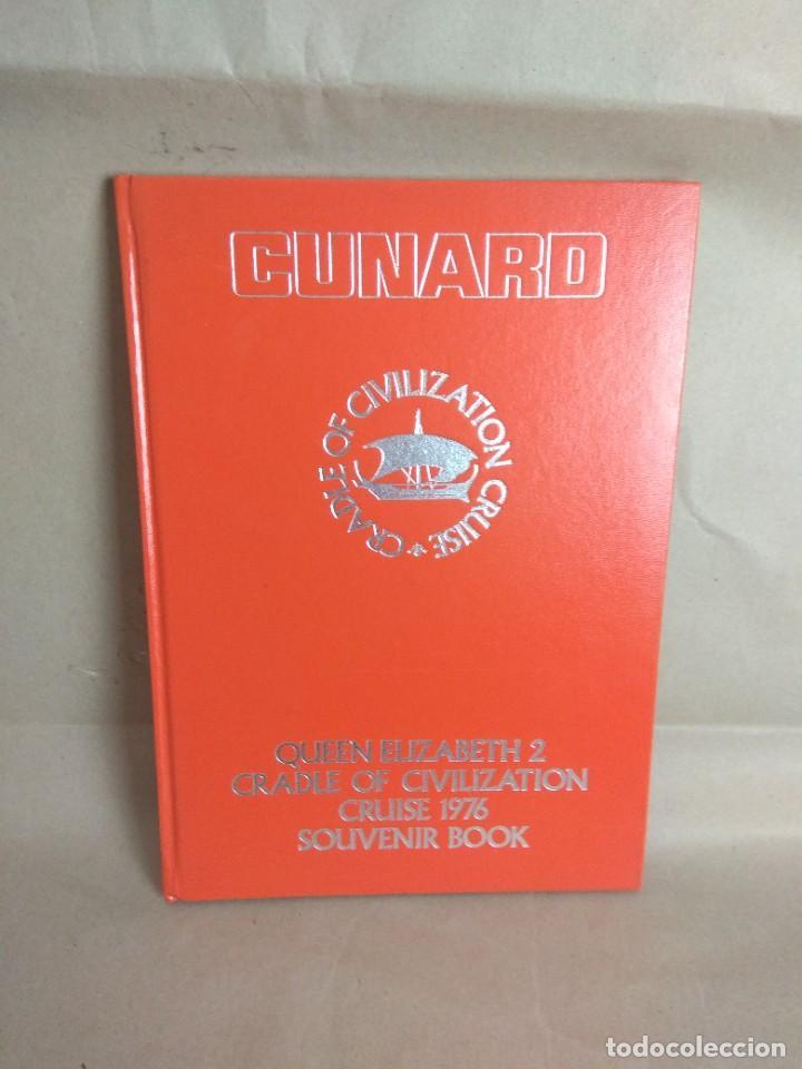 LIBRO SOUVENIR CRUCERO 1976 QUEEN ELIZABETH 2 (Libros Nuevos - Ocio - Guía de Viajes)