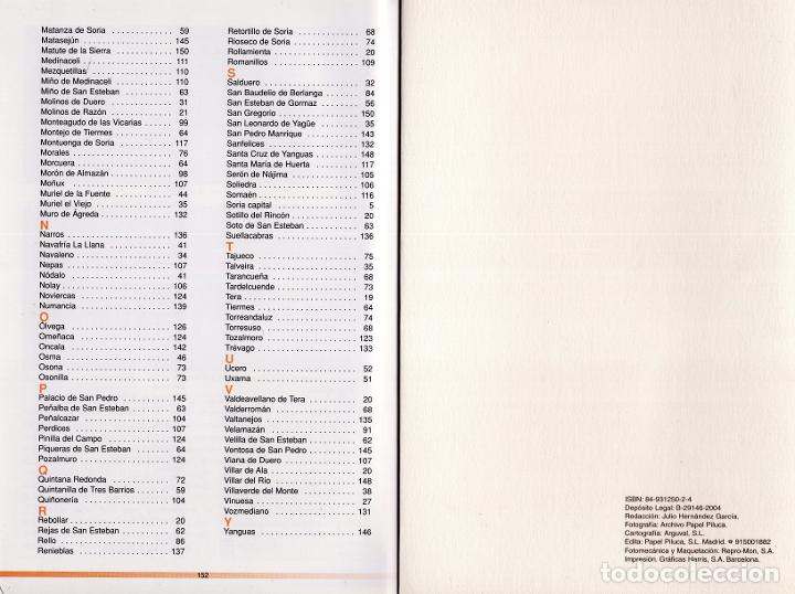 Libros: TIERRA DE SORIA. 10 RUTAS GUIADAS Y 242 FOTOGRAFÍAS. - Foto 4 - 220697518