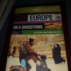 Libros: TRST4. D. LIBRO. EUROPE. ON A SHOESTRING. Lote 220729380