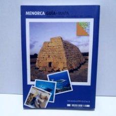 Libros: MAGNIFICA GUIA DE MENORCA CON TODO LO QUE HAY QUE CONOCER NUEVA DE LIBRERIA. Lote 222089400