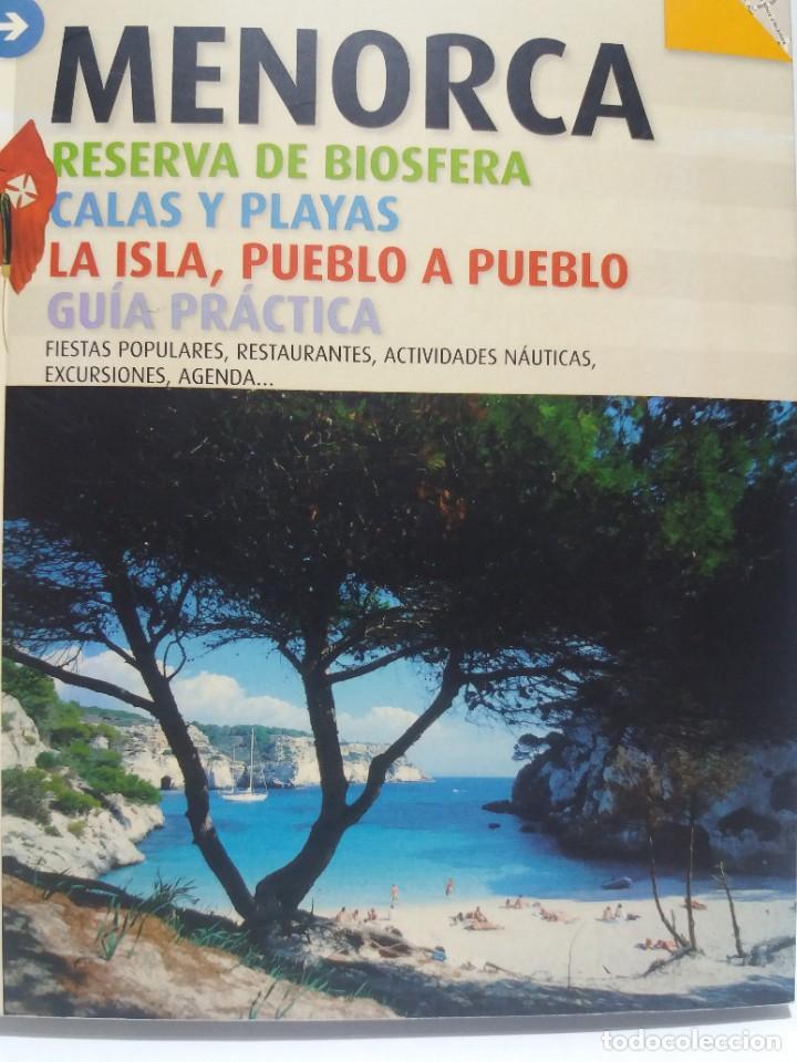 Libros: MAGNIFICA GUIA DE MENORCA CON TODO LO QUE HAY QUE CONOCER NUEVA DE LIBRERIA - Foto 2 - 222089400