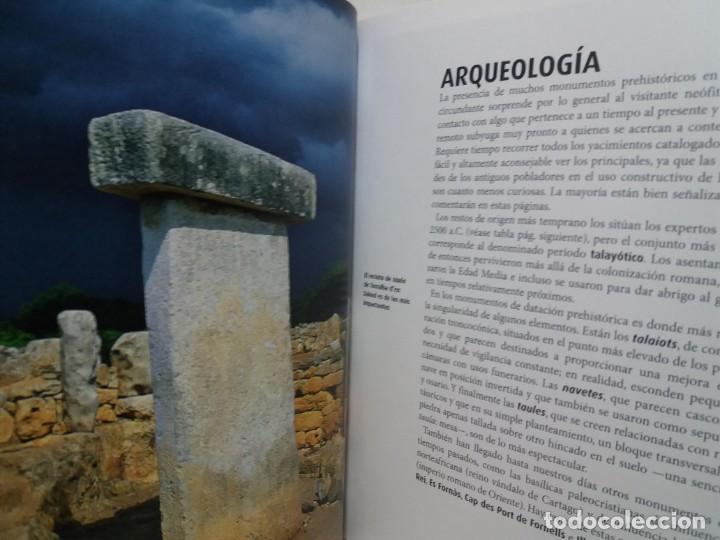 Libros: MAGNIFICA GUIA DE MENORCA CON TODO LO QUE HAY QUE CONOCER NUEVA DE LIBRERIA - Foto 10 - 222089400