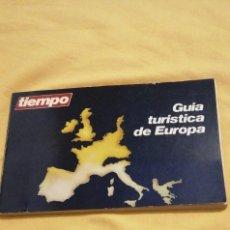 Libros: GUIA TURISTICA DE EUROPA TIEMPO LERNER MADRID1986 14X21CMS. Lote 223533557