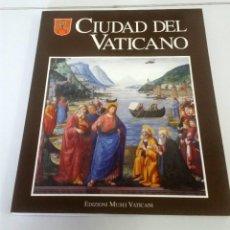 Libros: CIUDAD DEL VATICANO. EDICIÓN MUSEI VATICANI. Lote 225228755
