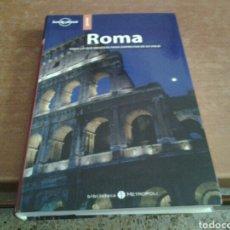 "Libros: GUIA LONELY PLANET ROMA ""BIBLIOTECA METROPOLI"". Lote 226271590"
