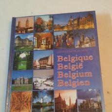 Libros: GUIA DE BÉLGICA MULTILINGÜE FRANCES-ALEMAN-INGLES-HOLANDES 95 PÁGINAS CON FOTOGRAFIAS 1992. Lote 227920332