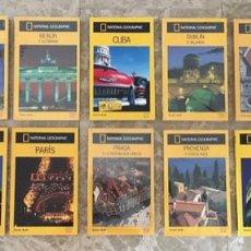 Livros: LIBROS 14 GUÍAS VIAJE NATIONAL GEOGRAPHIC AUDI EDICIÓN 2003 NUEVO. Lote 230098510