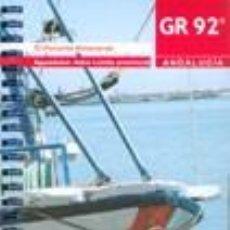 Libros: GUÍA DE EL PONIENTE ALMERIENSE. GR92.. Lote 235682190