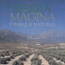 Libros: SIERRA MÁGINA Y PARQUE NATURAL. Lote 235998500