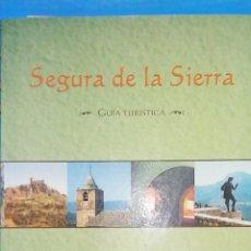 Livros: GUIA TURISTICA SEGURA DE LA SIERRA. CON POSTAL Y MAPA INCLUIDOS. Lote 238449060