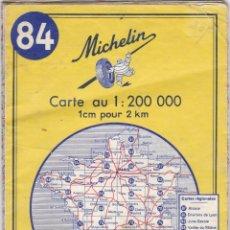 Libros: GUIA MICHELIN FRANCIA Nº 84 MARSEILLE - MENTON AÑO 1971 VER FOTOS ADICIONALES DEL ESTADO. Lote 238753035