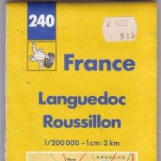 Libros: GUIA MICHELIN FRANCIA Nº 240 LANGUEDOC - ROUSSILLON AÑO 1989 VER FOTOS ADICIONALES DEL ESTADO. Lote 238754020