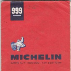 Livros: GUIA MICHELIN Nº 999 FRANCE SUD GRANDES ROUTES AÑO 1970 VER FOTOS ADICIONALES DEL ESTADO. Lote 238804465