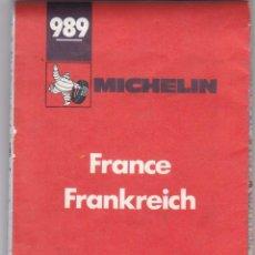 Libros: GUIA MICHELIN Nº 989 FRANCE AÑO 1978 VER FOTOS ADICIONALES DEL ESTADO. Lote 238805100