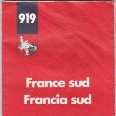 Libros: GUIA MICHELIN Nº 919 FRANCE SUD AÑO 1989 VER FOTOS ADICIONALES DEL ESTADO. Lote 238805480