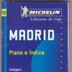 Libros: GUIA MICHELIN Nº 42 EDICIONES DE VIAJE MADRID AÑO 2002 - 2003 VER FOTOS ADICIONALES. Lote 238809605