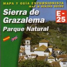 Libros: SIERRA DE GRAZALEMA ALPINA E-25. Lote 240906915