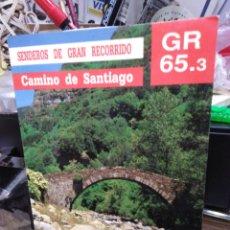 Libros: SENDEROS DE GRAN RECORRIDO/CAMINO DE SANTIAGO GR 65-3/SOMPORT/UNDES DE LERDA(TRAMO ARAGONÉS)1991. Lote 245166595