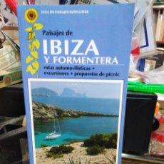 Libros: PAISAJES DE IBIZA Y FORMENTERA-RUTAS,EXCURSIONES,PICNIC-HANS LOS SE-EDITA SUNFLOWER BOOKS 1989. Lote 245167530