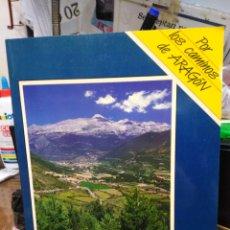 Libros: POR EL VALLE DEL RÍO ARAGON-POR LOS CAMINOS DE ARAGON/N°1-1990 CONTIENE MAPA. Lote 245186475