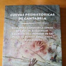 Libros: LIBRO CUEVAS PREHISTÓRICAS DE CANTABRIA. Lote 248693835