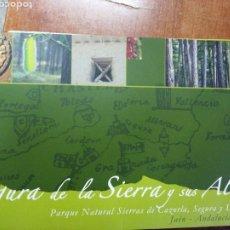 Livros: SEGURA DE LA SIERRA Y SUS ALDEAS. P. N. SIERRAS DE CAZORLA, SEGURA Y LAS VILLAS. Lote 249536165