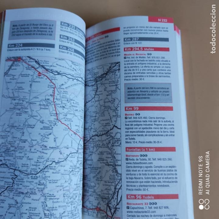 Libros: GUIAS Y MAPAS. COMER EN RUTA.NET. 2013. ANAYA TOURING. 431 PAGS. - Foto 4 - 259260515