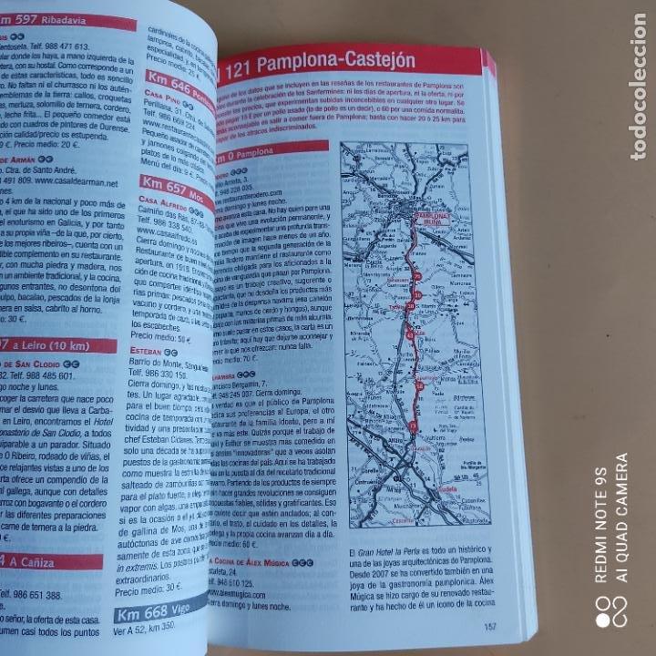 Libros: GUIAS Y MAPAS. COMER EN RUTA.NET. 2013. ANAYA TOURING. 431 PAGS. - Foto 5 - 259260515