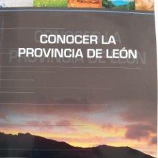 Libros: CONOCER LA PROVINCIA DE LEON CLUB DEPORTIVO MORLA DE LA VALDERIA. Lote 261669960