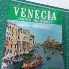 Livres: VENECIA CENTRO DEL MUNDO. Lote 263235280
